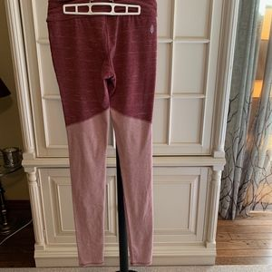 Free People Pants - FP Free people movement evolution wine leggings L